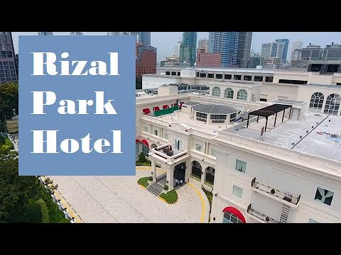 RIZAL PARK HOTEL ‖ Crazy Rich Asian Theme