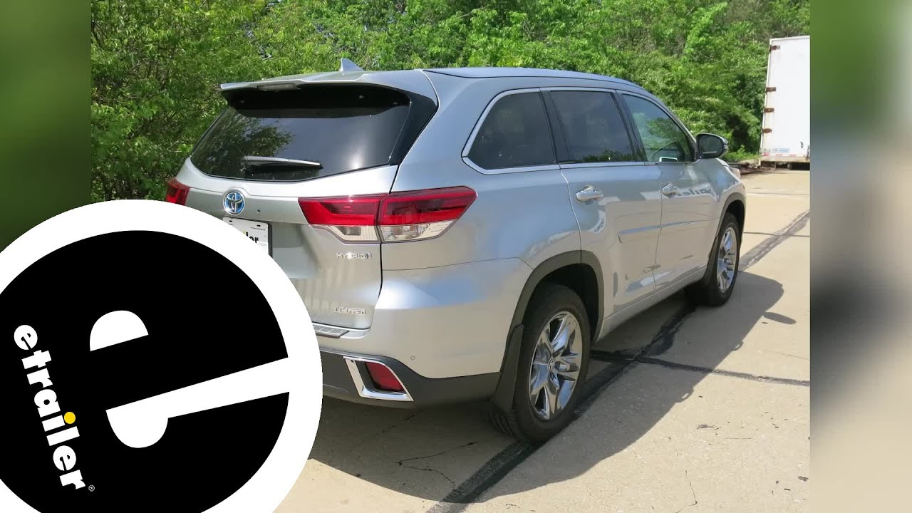 Best 2019 Toyota Highlander Trailer Hitch Receiver Options Etrailer
