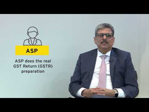 GST: What is the functionality of GSP-ASP solution?