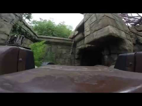 Disneyland Paris - All Roller Coasters 2015 HD