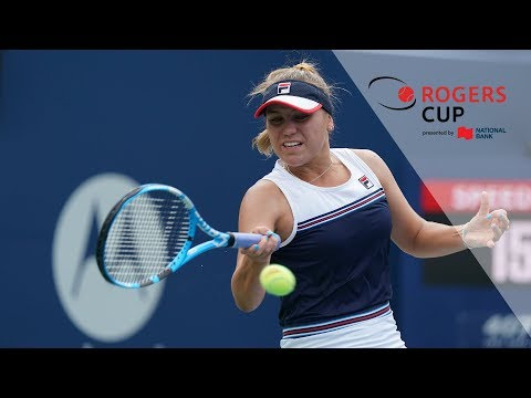 Highlights: Rogers Cup 2019 Tuesday Day - Kenin upsets World No. 1 Barty  in second round
