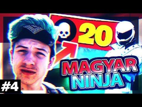 ÉN VAGYOK A MAGYAR NINJA ! #4 (FORTNITE GAMEPLAY)
