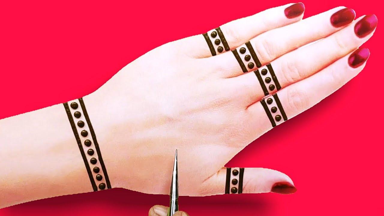 Download latest gold ki Mehandi design-beautiful back hand Arabic Henna mehndi design-तीज त्यौहार मेहंदी डिजा