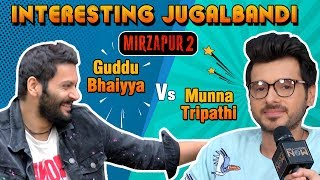 Munna Tripathi Vs Guddu Bhaiyya Dialogue & Mirzapur 2 Date REVEALED By Divyendu Sharma And Ali Fazal