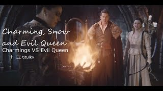 OUAT 6x20 Snow, Charming and Evil Queen sing ''Evil Queen VS Charmings'' + CZ titulky HD