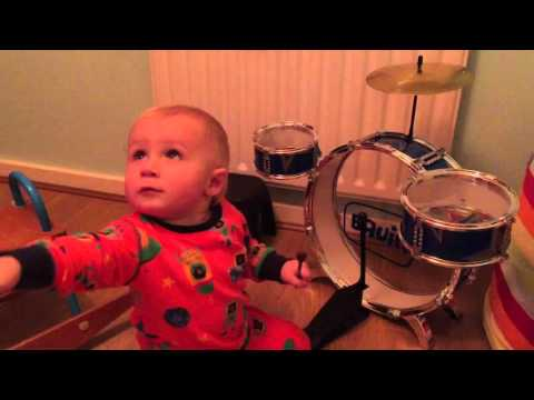 Austins Bath time and musical instruments