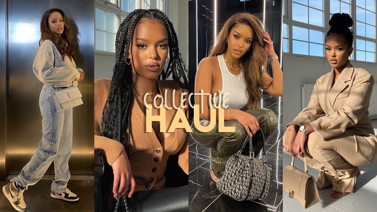 HUGE COLLECTIVE TRY-ON HAUL (i love everything!!!!) | Dior, Source Unknown, Motel Rocks + More!!!