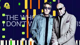 """The Who - I DON'T WANNA GET WISE (PRO MIDI REMAKE) - """"in the style of"""""""
