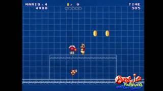 Mario Forever Greek Letter Worlds - Powerup Showcase