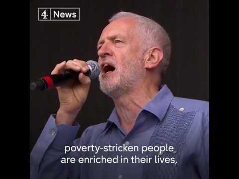 Corbyn reads Shelly