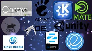 Los entornos de escritorio Linux más famosos!! ¿cual elegir?