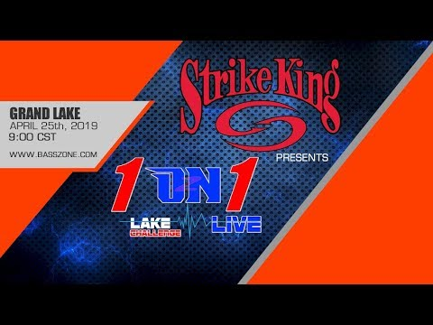 1 ON 1 LIVE STRIKE KING LAKE CHALLENGE - Andy Littlejohn