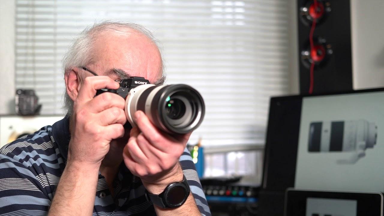 Sony Fe 70 200 F4 G Oss Lens Review Youtube 24 105mm F 4 Lensa Kamera Black