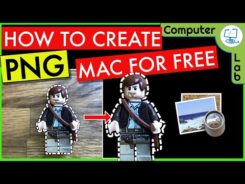 How To Create PNG On Mac For Free