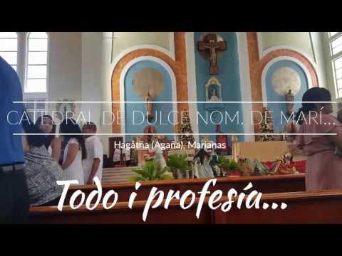 Dåndan i Panderetas en Agaña, Guaján, Marianas, EEUU