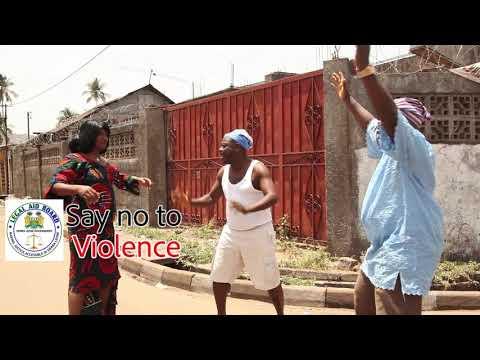 Sierra Leone Legal Aid Board, Say No to Violence Vol 3