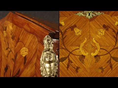 French bureau of the mid-twentieth century. Antiques and decorative shop online
