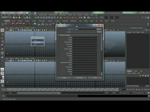 Tutorial - Learning Autodesk Maya: A Beginners Introduction to the Software, Part 1-1