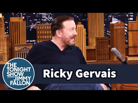 Thumbnail: Ricky Gervais Refuses to Give Up Eating or Drinking to Lose Weight