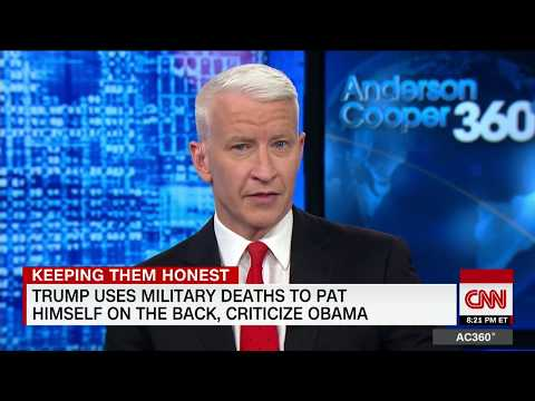 Thumbnail: Cooper: Trump turned deaths into own gain