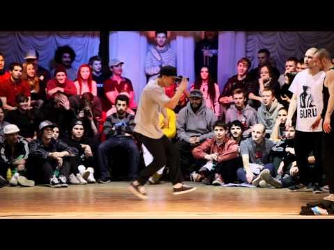 OBC Crew vs Ksens & Sokol at Battle Is In Da House 2012