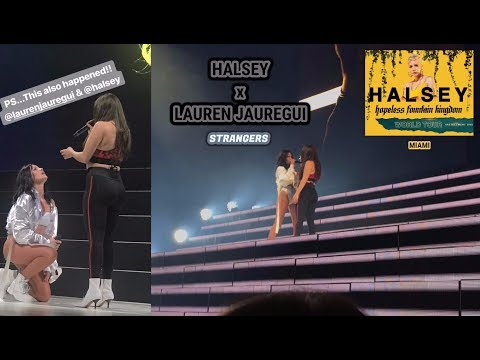"Halsey ft. Lauren Jauregui - ""Strangers"" PERFORMANCE LIVE in Miami, FL #HFKTour | COMPLETE"