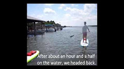 Stand-up paddleboarding in New Smyrna Beach