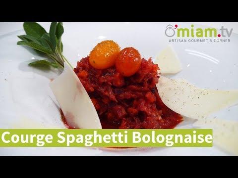 courge-spaghetti-à-la-bolognaise---100%-vÉgÉtarien