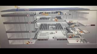 видео: Автоматизированный склад Bestlog до 100% без участия человека