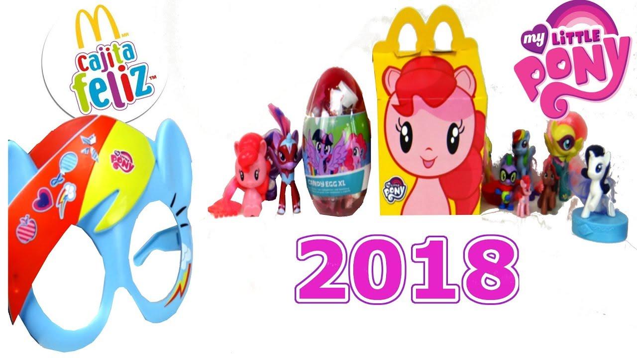 Pony En McdonaldsUniverso De Sorpresas 2018 Mlp Feliz Little Juguetes La Cajita My uFJ5KcTl31