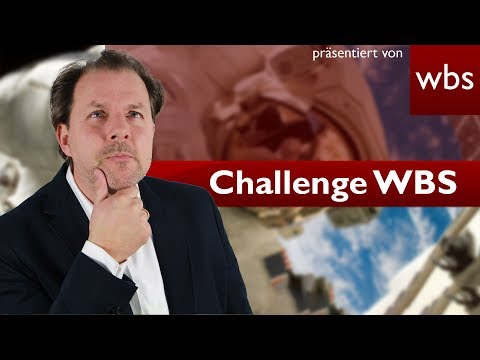 Astronauten-Prügelei im Weltraum - Welches Recht gilt? | Challenge WBS - RA Solmecke