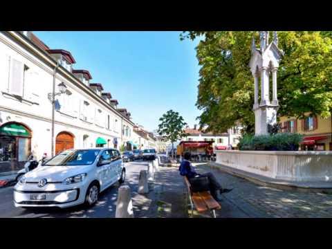 Catch a Car - Bonjour Genève - Hello Geneva - Guten Tag Genf