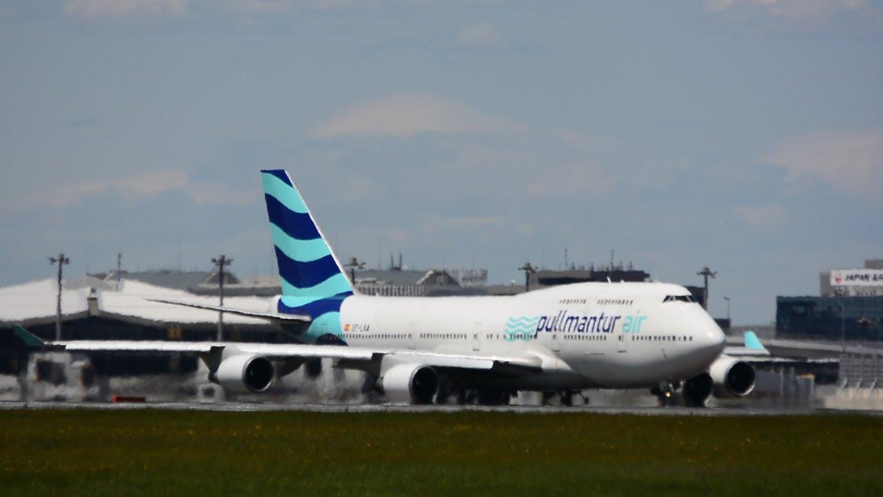 元JALのB747「JA8087」]!!プルマ...