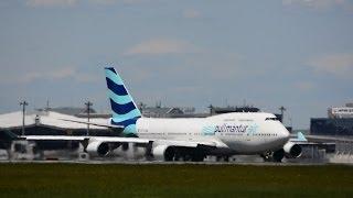 [元JALのB747「JA8087」]!!プルマントゥール・エア!!Pullmantur Air(Boeing 747-446) Takeoff from Narita RWY34L!! 成田空港!!