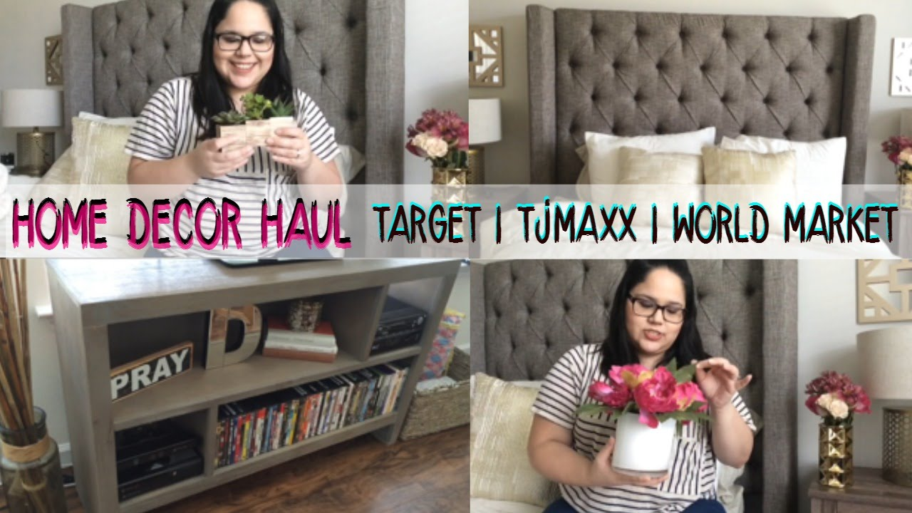 target home decor haul home decor haul mini apartment tour target tjmaxx 11759