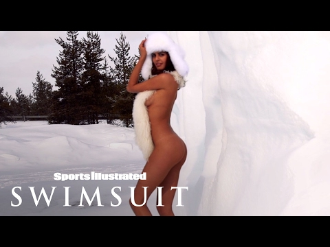 Bo Krsmanovic Strips Down To Just Her Scarf In Finland | Sports Illustrated Swimsuit