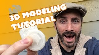 3D Modeling & Printing with 123D Design - Prop: Live from the Shop