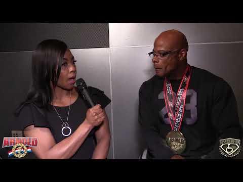 Reggie Bennett - 2018 Arnold Classic Interview