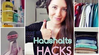 HAUSHALTS UND LIFE HACKS die dein Leben einfacher machen ❤ | Küche, Schlafzimmer, Bad | Diie Jule