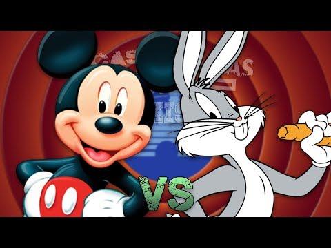 Mickey Mouse vs Bugs Bunny. Épicas Batallas de Rap del Frikismo T2 | Keyblade