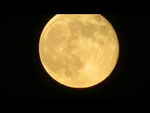 Supermoon over Israel – Super Moon – Super Full Moon - Brightest in 20 years: