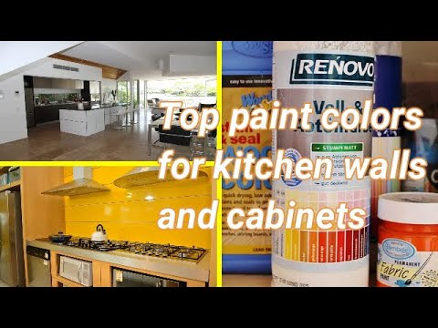 Top Paint Colors For Kitchen Walls And Cabinets