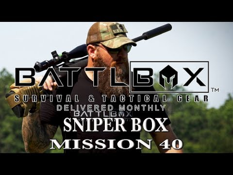 BATTLBOX MISSION 40 BREAKDOWN - SNIPER BOX