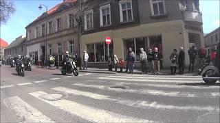 Otwarcie sezonu motocyklowego Gniezno 2015 Parada zlot