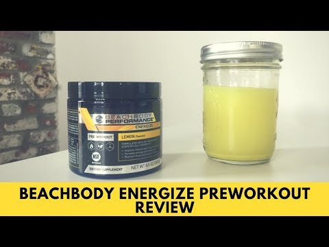 Beachbody Performance Energize Pre Workout Review Whats Quercetin