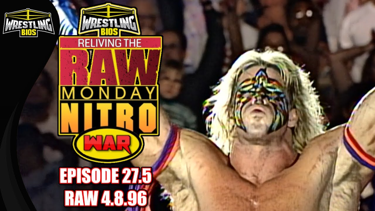 """Download Raw vs Nitro """"Reliving The War"""" - Episode 27.5 (Special) - April 8th 1996"""
