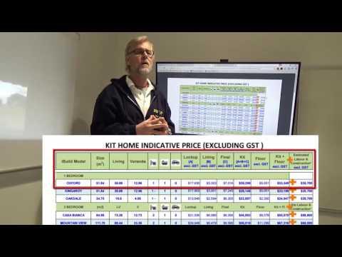 IBuild Kit Home Prices Table Walk Through