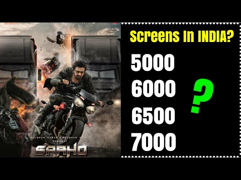 How Much Screens SAAHO Will Get In INDIA? Public Opinion