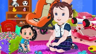Baby Lisi Games - Newborn Brother Playing - Baby Toys PlayTime Game