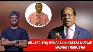 MILLARD AYO - ''Boss MENGI Alinikataza Nisivae Mashati Makubwa''
